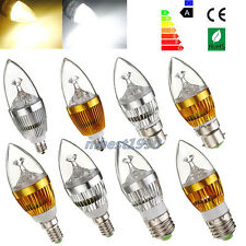 E27 E14 E12 B22 Dimmable 3W 6W 9W High Power LED Chandelier Candle Light Bulb