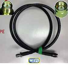 TIMES Microwave® 1-30' LMR-240 SMA Male Plug RP-SMA Female Jack Extension Cable