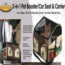Pet Booster Seat Dog Seat For Car, New, Fast Free Shipping TWO SIZE
