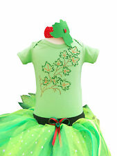 Super Villain Hero Poison Ivy Costume Baby Toddler Fancy Dress Party Wear