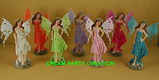 1 Poly Resin STANDING FAIRY GIRL Figurine CHOOSE COLOR