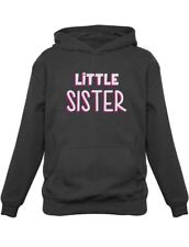 Little Sister Gift for Siblings New Lil Sister Kids Hoodie Shower Gift