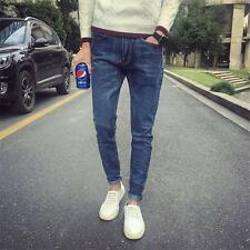 New Mens Stylish Stretch Slim Fit Denim Jeans Pants Casual New Fashion Trousers