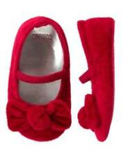 NWT Gymboree Gingerbread Girl Red Crib Shoes 01 02 03