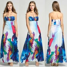 Women Sexy Summer Sleeveless Maxi Long Even Maxi Long Evening Party Beach Dress