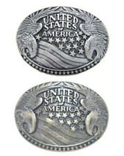 Clasp Buckle Belt - Buckle United States Utd. Interchangeable Clasp Buckles