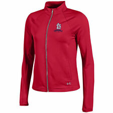 St. Louis Cardinals Under Armour Women's Fleece Full-Zip Jacket - Red - MLB