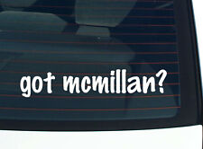got mcmillan? FAMILY TREE REUNION LAST NAME SURNAME DECAL STICKER CAR WALL CUTE