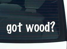 got wood? FAMILY TREE REUNION LAST NAME SURNAME DECAL STICKER CAR WALL CUTE