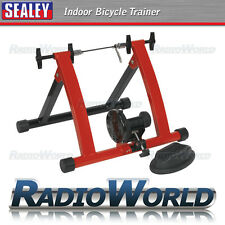 Sealey Indoor Road Mountain Bike Exercise Bicycle Resistance Fitness Trainer