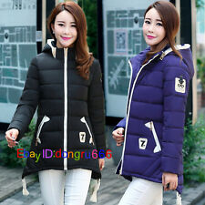 New Winter new womens coats cotton jacket Slim coat Down hooded jacket Parka