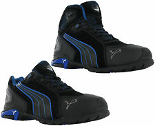 Puma Rio Industrial Mens S3 SRC Safety Midsole & Toe Cap Trainers Shoes Boots