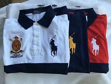 NWT POLO RALPH LAUREN Big & Tall BIG PONY Mesh Polo Shirt Summer Classic Size LT