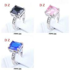 r564m75 Size Pick Free Shipping Women's Gemstone Diamante CZ Cocktail Ring Craft