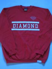 Bars Logo Red White Crew Sweater DIAMOND SUPPLY Co Company L Large Crewneck Mens