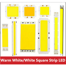5W 6W 10W 15W 20W 40W 50W COB Warm White / White Square Strip Car LED Chip Light