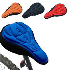 Cycling Bicycle Cushion Silicone Gel Bike Saddle NEW Seat Soft Cover 3D Pad