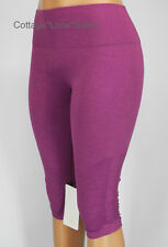 NEW LULULEMON In The Flow II Crops 6 8 10 12 Heathered Regal Plum Crop Pants