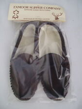 Lady sheepskin slippers  moccasins exmoor made softsole size