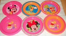 Disney Minnie Mickey Mouse Winnie Pooh Microwaveable Plate  6  Mths + New