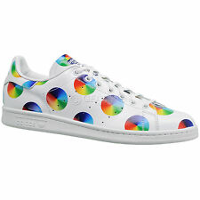 new-adidas-originals-stan-smith-color-wheel-mens-casual-shoes-white-leather