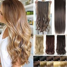 Pro Blonde Brown Clip In Hair Extensions OnePcs As Remy Hair Extension Piece Fl3