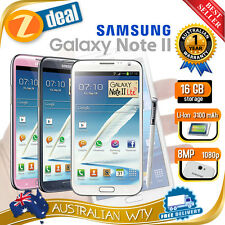 SAMSUNG GALAXY NOTE 2 II N7105 4G LTE 16GB UNLOCKED + OZ WTY (NEW SEALED BOX)