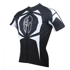 Men Knight Short Sleeve Cycling Jersey Bicycle Bike Sportwear Apparel Rider D009