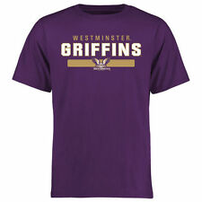 Westminster Griffins Team Strong T-Shirt - Purple - College