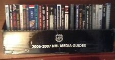27 Different 2003-04 NHL Media Guides Hawks Pens Canucks Wild $5.00 Each