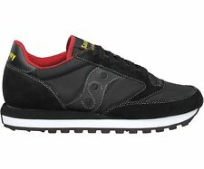 Saucony Jazz Original Running Shoe Black / Red S2044-251 Men Sizes Available NEW