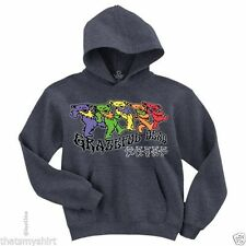 New Authentic Grateful Dead Trippy Bears Mens Pullover Hoodie