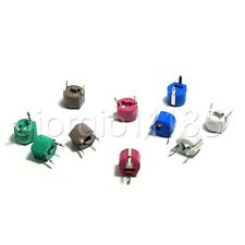 40pcs 5 PF ~ 120 PF 6 Values Variable Ceramic 6mm Trimmer Capacitor