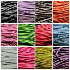 10 Metre Waxed Wax Cotton Cord Bundle 2mm Jewellery Making Beading String Thread