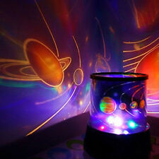 Amazing LED Starry Night Sky Projector Lamp Star Light Cosmos Master & Kids Gift