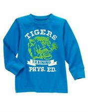 NWT Gymboree Boys Mr. Magician Tigers Training Phys Ed Tee Shirt Size 5 & 7