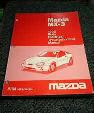 1995 Mazda MX-3 1995 Body Electrical Troubleshooting Manual 1474-10-94H