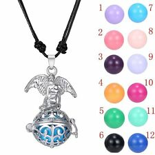 Sounds Bell Family Gifts Baby Angel Locket Pendant Necklace Pregnant Chimes Ball