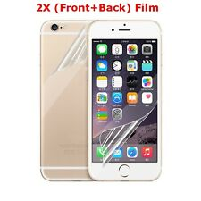 2Pcs (Front+Back) Clear LCD Screen Protector Film Foil Saver For Iphone 6/S Plus