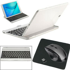 Wireless Bluetooth Stand Keyboard Mouse For Samsung Galaxy Tab A T550/T551 Lot