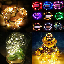 10/20/30/40 LED MICRO WIRE STRING FAIRY PARTY XMAS WEDDING CHRISTMAS LIGHT DECOR