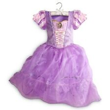 NWT DISNEY STORE PRINCESS RAPUNZEL DRESS COSTUME GOWN GIRLS TANGLED SPRING 2015