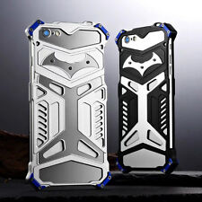 New Luxury Aluminum Metal Bat Iron Shockproof Bumper Cover Case For Apple iPhone