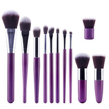 11Pcs Makeup Brushes Set Powder Foundation Eyeshadow Eyeliner Lip Cosmetic Brush