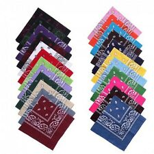 Paisley Bandana Head wrap Cotton Head Wrap Neck Scarf Wristband Handkerchief new