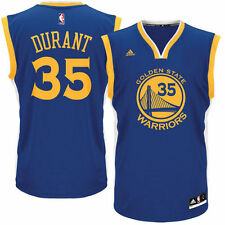 Kevin Durant Golden State Warriors adidas Road Replica Jersey - Royal - NBA