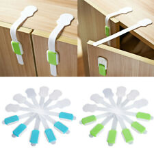 Phenovo Cupboard Drawer Oven Lock Secure Catches Safety Baby KIds Child Proofing