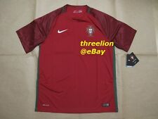 BNWT Nike PORTUGAL Euro 2016 Home Soccer Jersey Football Shirt Trikot 724620