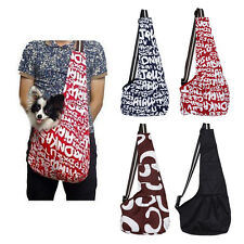 Pet Dog Cat Puppy Strap Sling Tote Single Shoulder Carrier Cloth Bag Carry Pouch