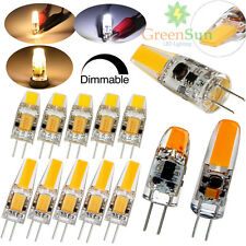 1/4/10PCS Dimmable G4 3W 6W LED COB Capsule Bulb Replaces Halogen Light Lamp